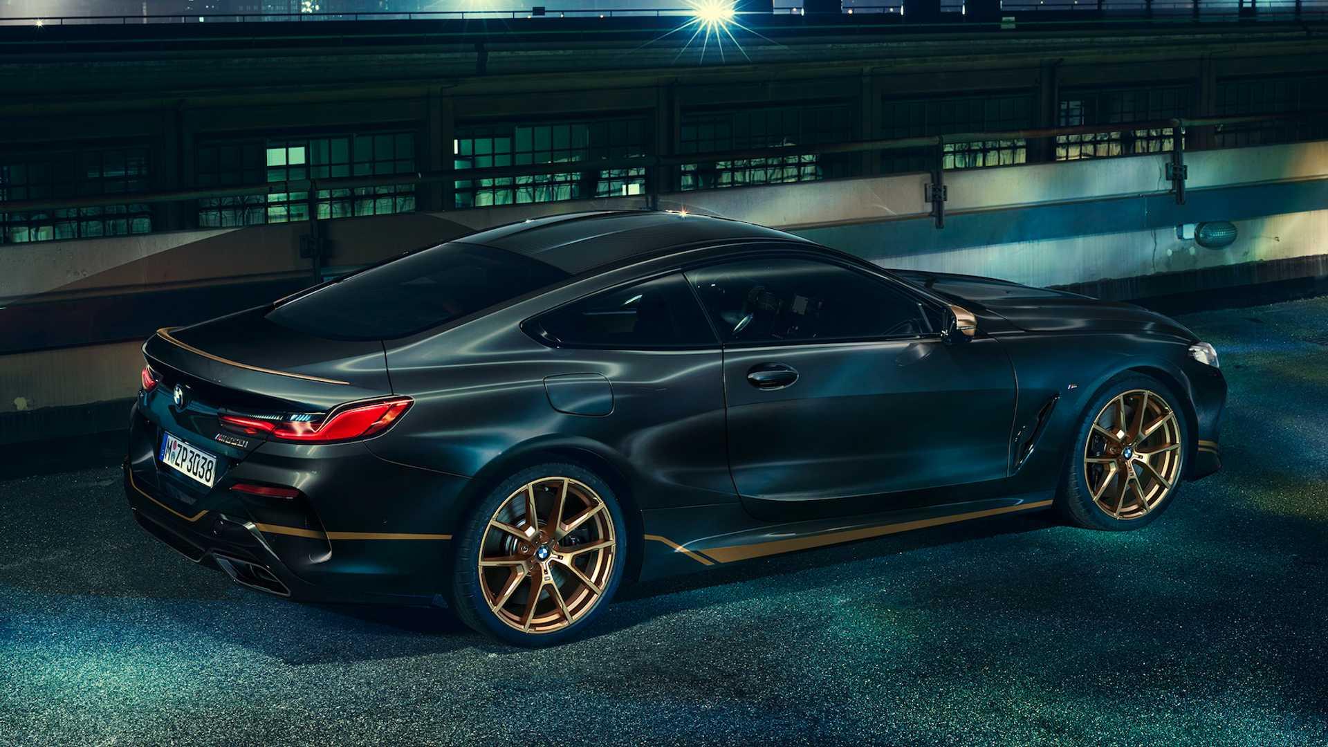 BMW serii 8 Golden Thunder Edition