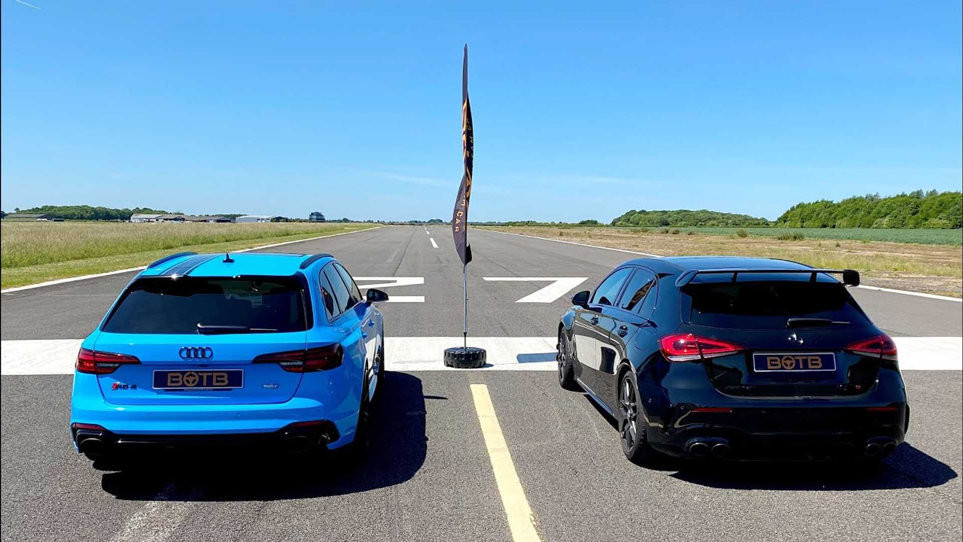 Audi RS4 Avant vs. Mercedes-AMG A45 S