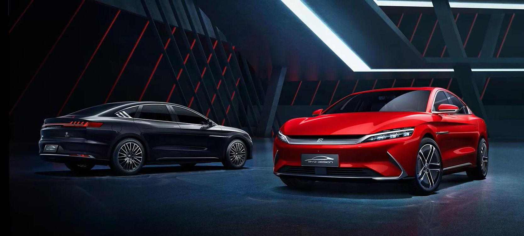 Chińskie samochody elektryczne: BYD