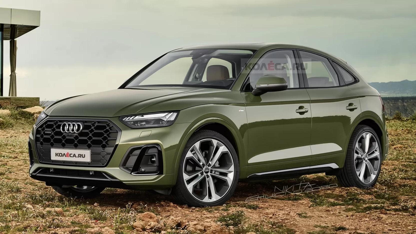 Audi Q5 Sportback (2021) – rendering Kolesa.ru
