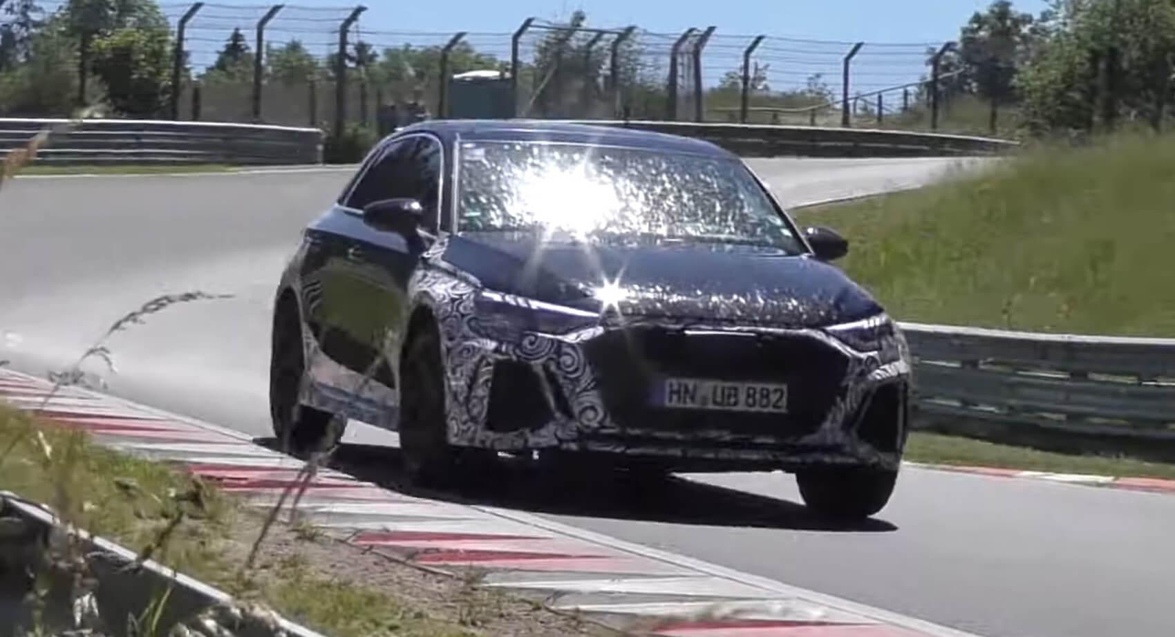 Audi RS3 Sportback 2021 - zdjęcie szpiegowskie