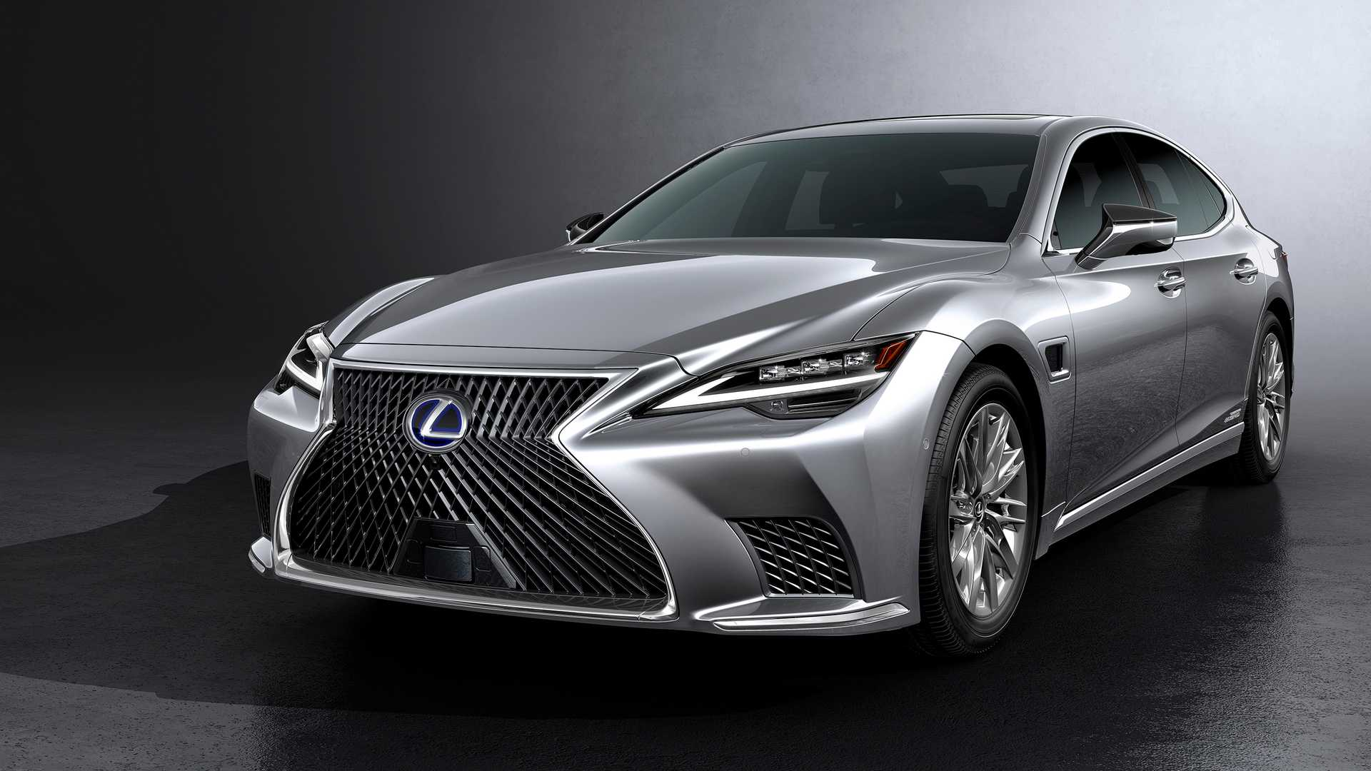 Lexus LS 2021 facelift