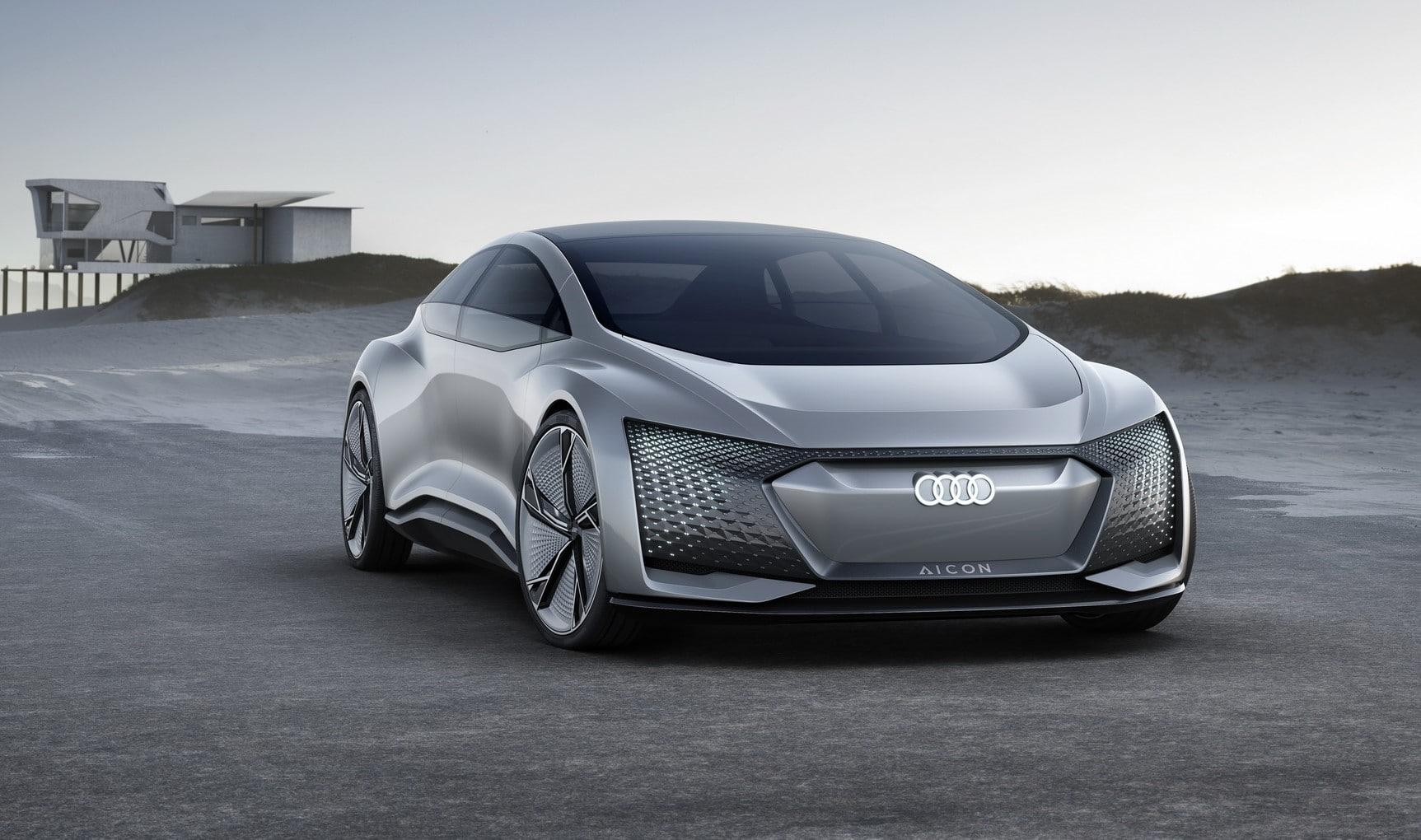 Audi aicon (zapowiedź A9 e-tron)