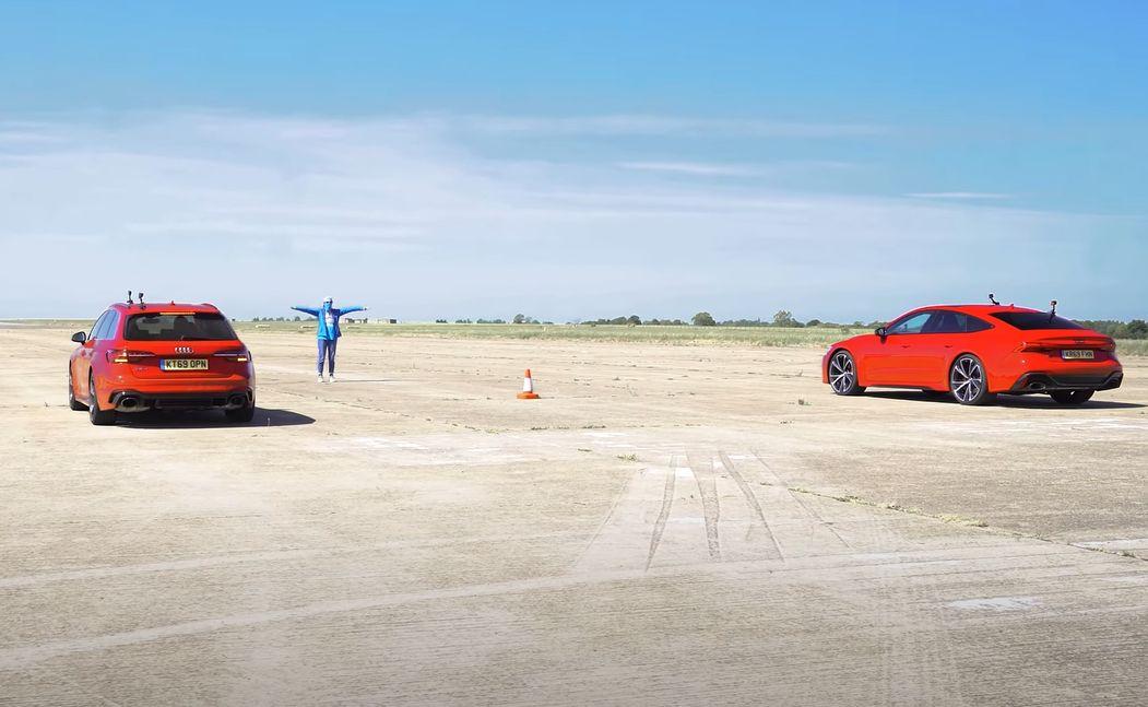 Audi RS4 vs. Audi RS7 Sportback