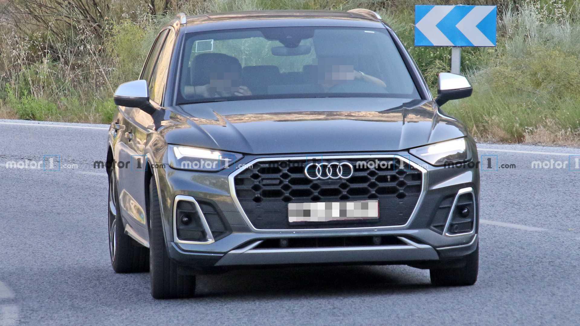 Audi SQ5 2021 - zdjęcia szpiegowskie