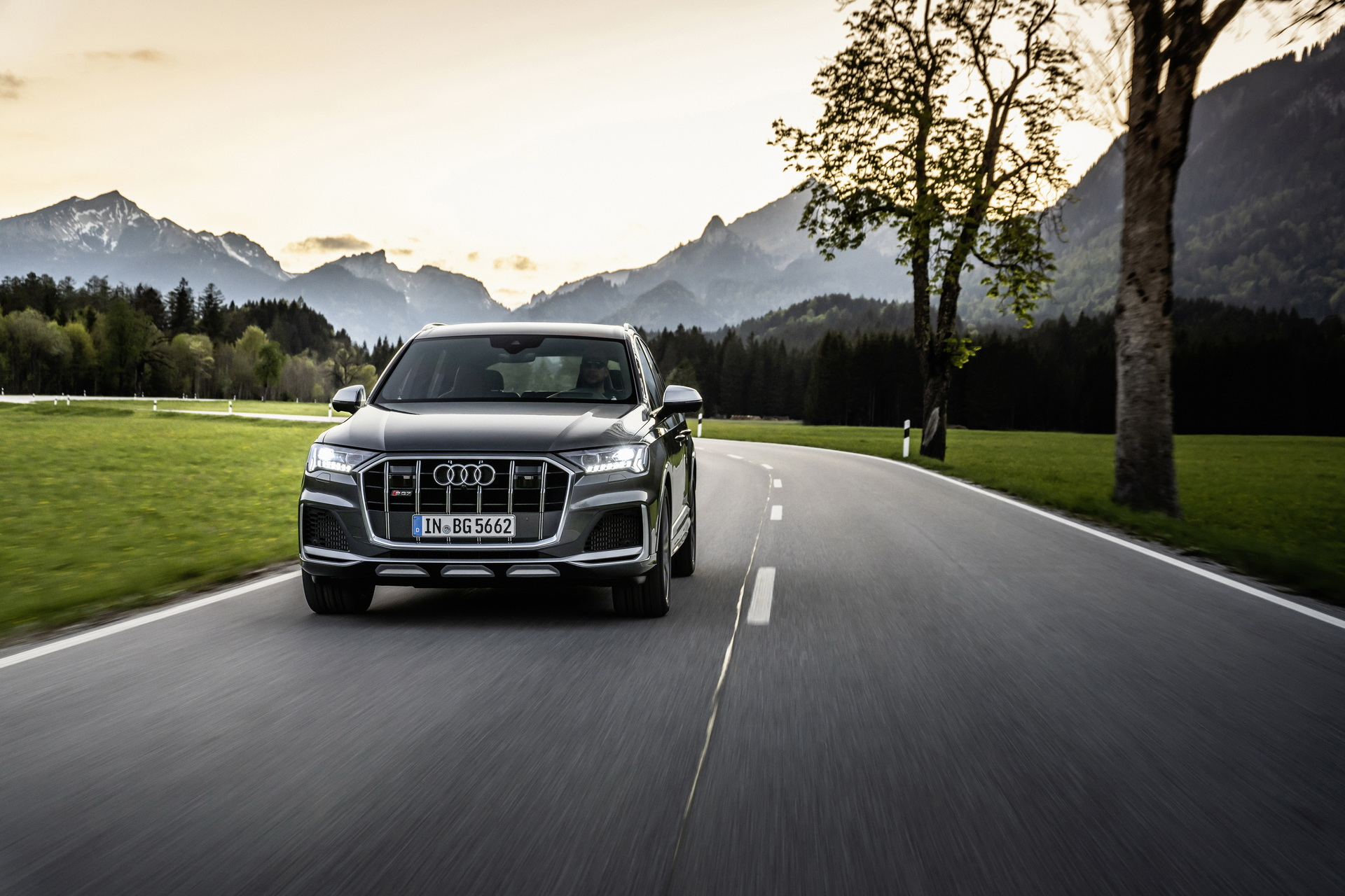 Audi SQ7 2020 V8 TFSI