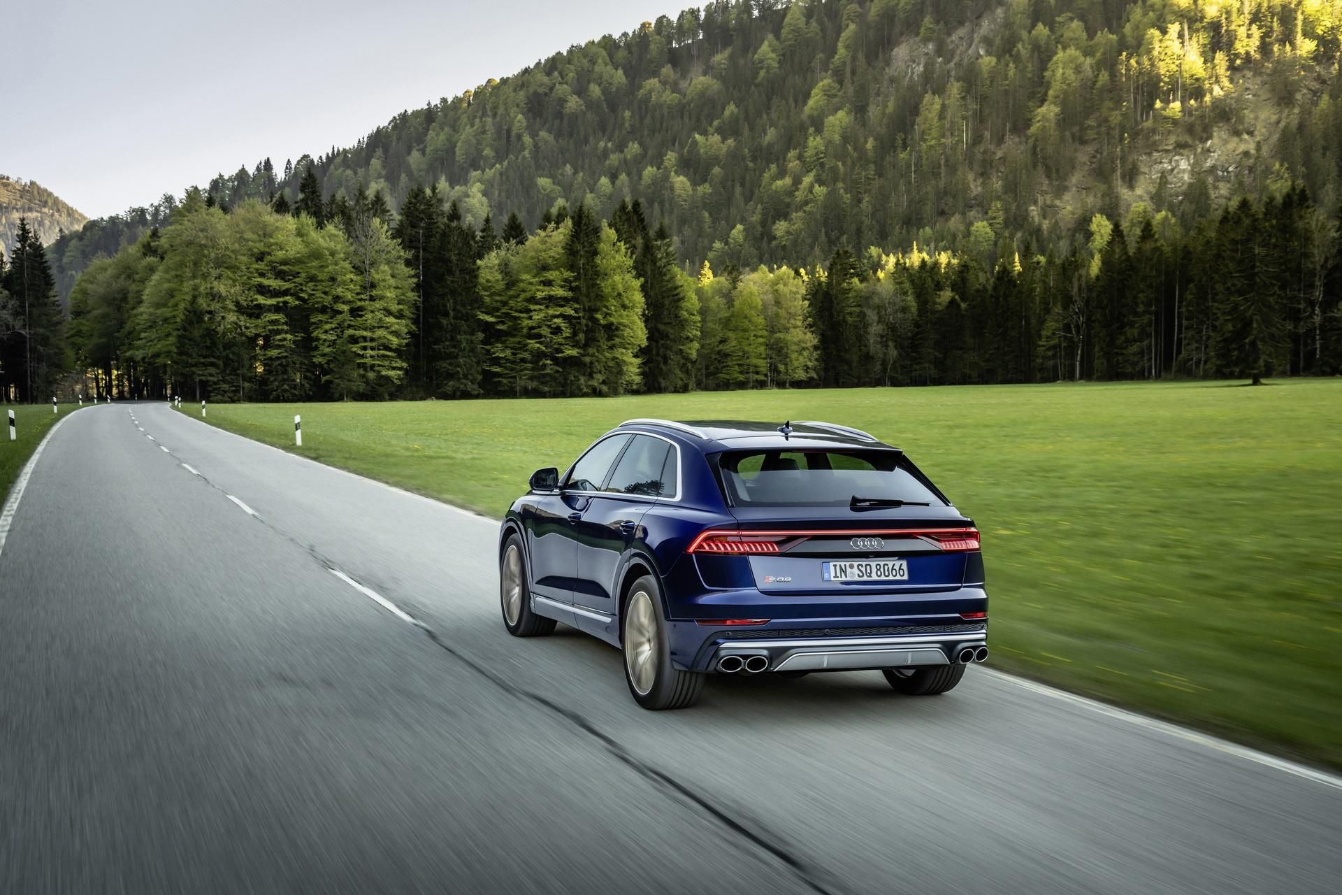 Audi SQ8 2020 V8 TFSI