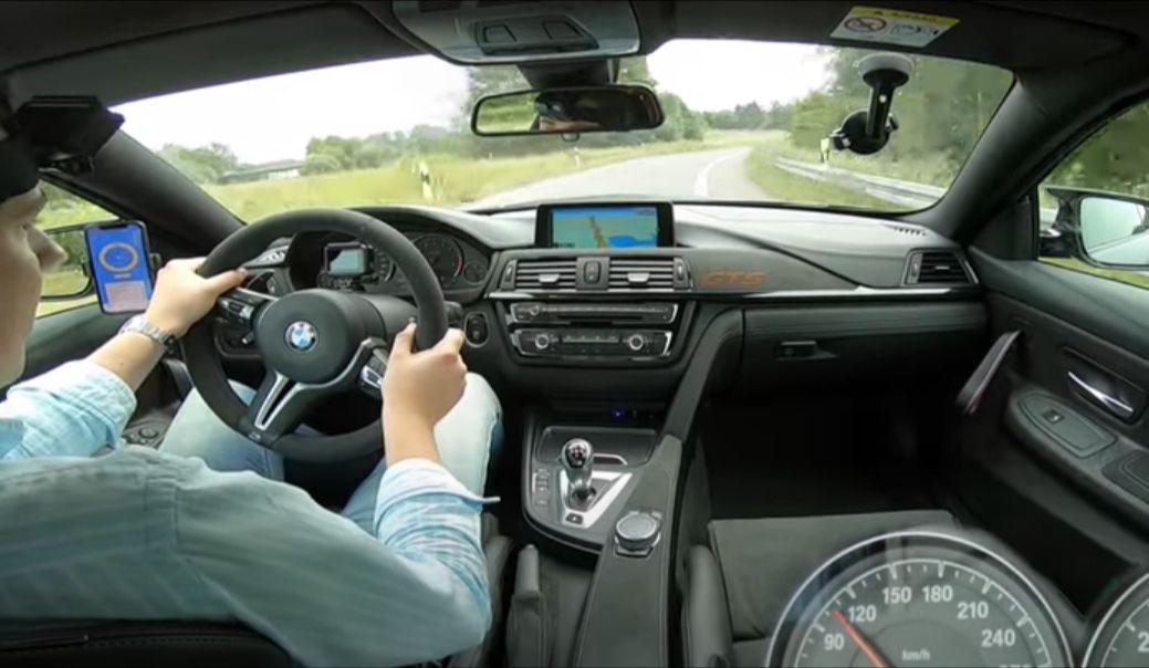 BMW M4 GTS - wnętrze