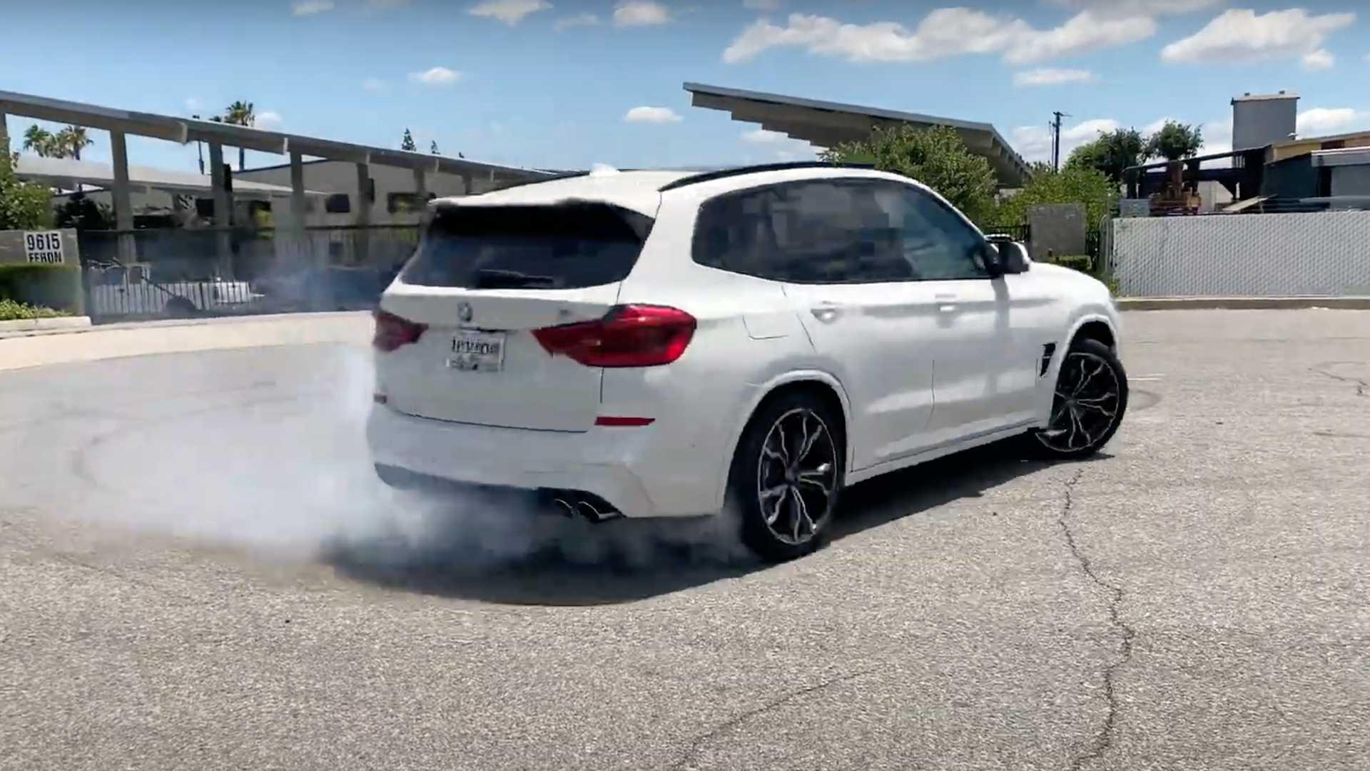 BMW X3 M RWD Mission Performance