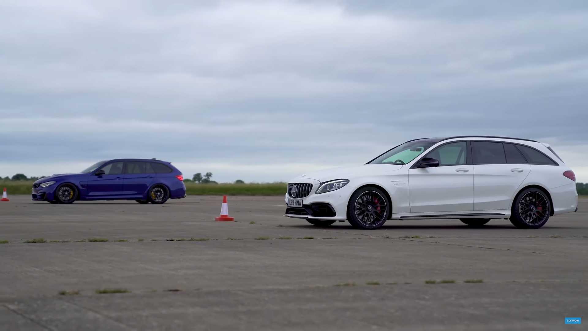 BMW M3 Touring (samoróbka) vs. Mercedes-AMG C63 S
