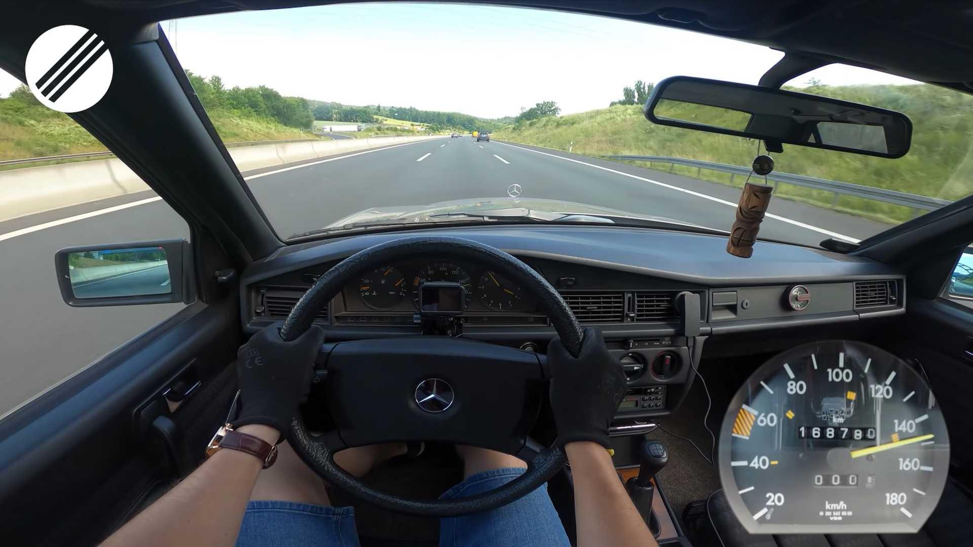 Mercedes 190D 1988 - wnętrze