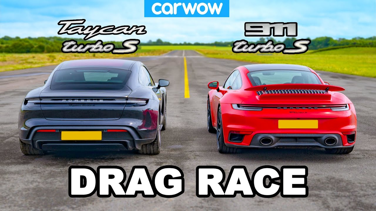 Porsche Taycan Turbo S vs. Porsche 911 Turbo S 2020