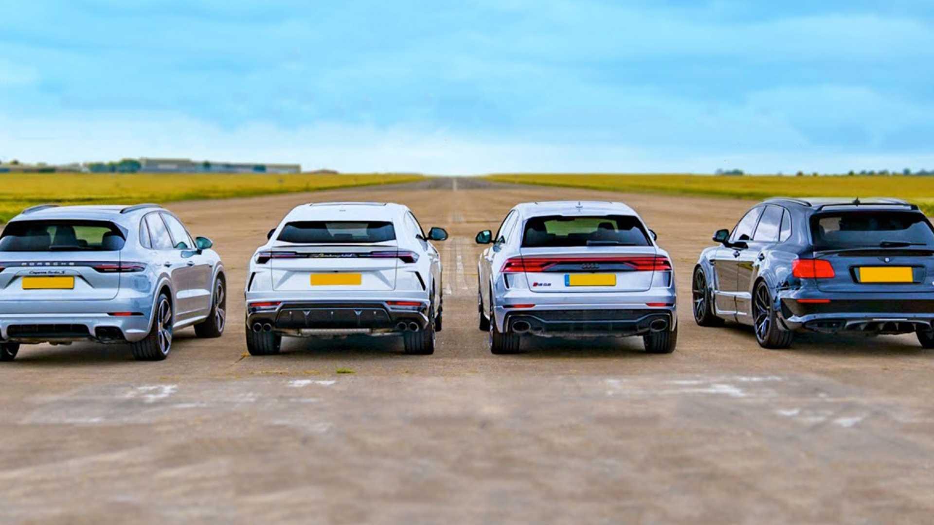 Grupa Volkswagena - najmocniejsze SUV-y