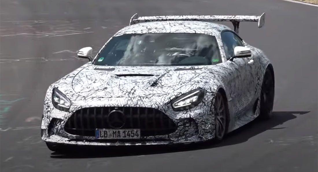 Mercedes-AMG GT R Black Series - prototyp