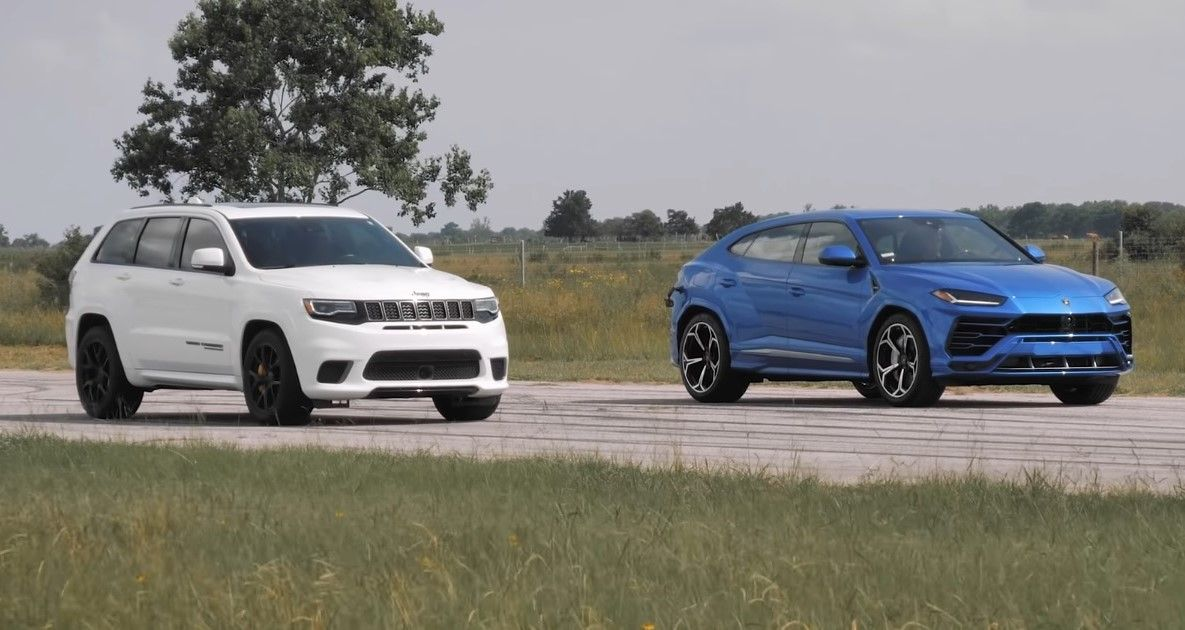 Lamborghini Urus vs. Jeep Grand Cherokee Trackhawk