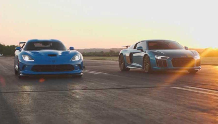 Dodge Viper vs. Audi R8
