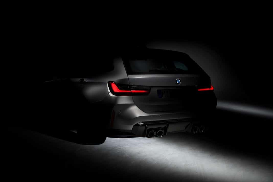 BMW M3 Touring 2022 - zwiastun