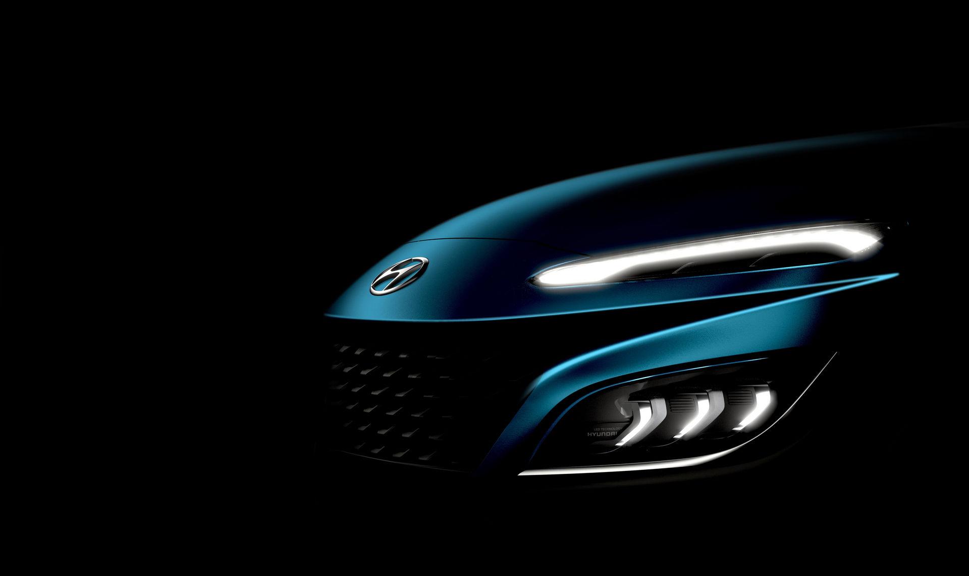 Hyundai Kona 2021 (facelift) – zwiastun / teaser