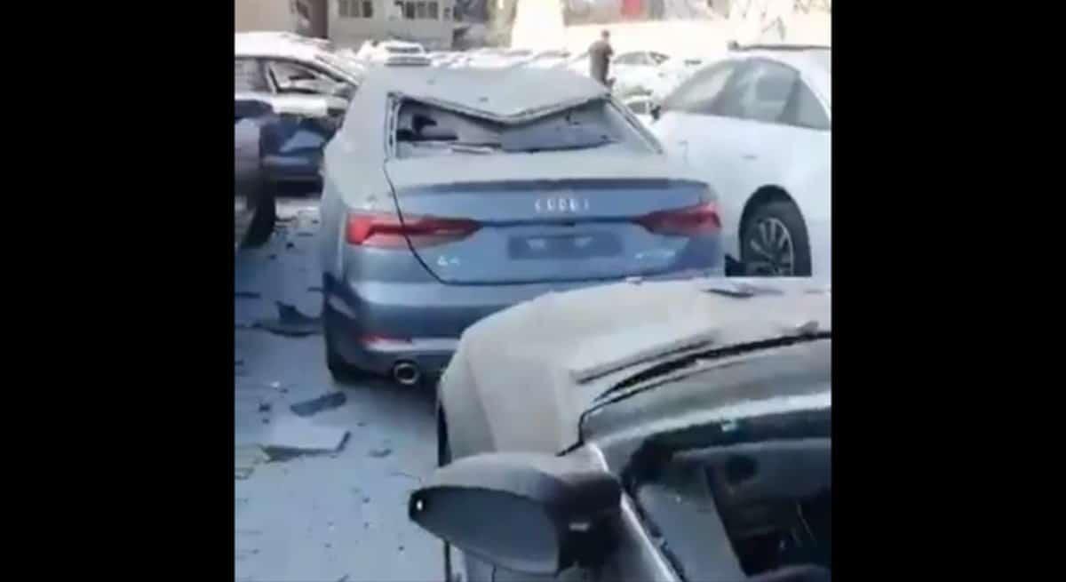 Wybuch w Bejrucie: 600 egzemplarzy nowych modeli Audi (w tym A8) zniszczonych