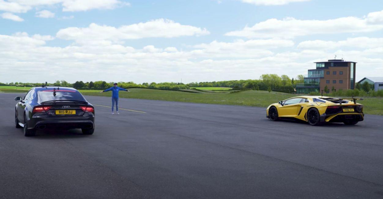 Audi RS7 vs. Lamborghini Aventador SV