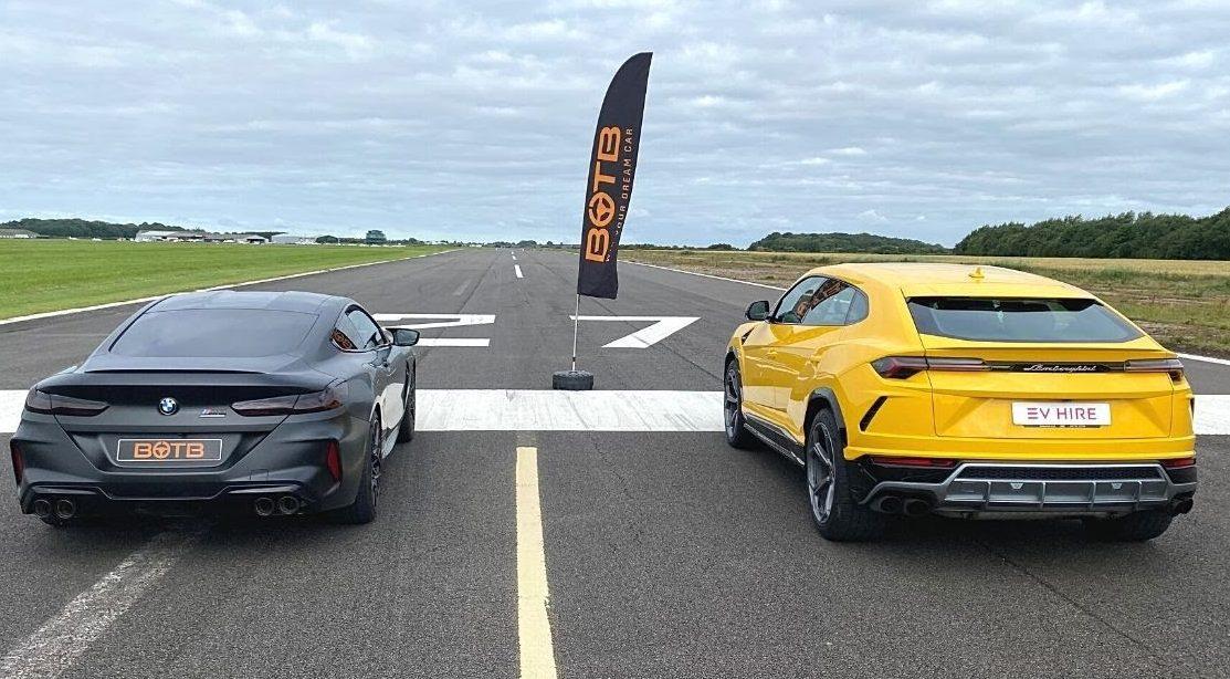 BMW M8 Competiton vs. Lamborghini Urus