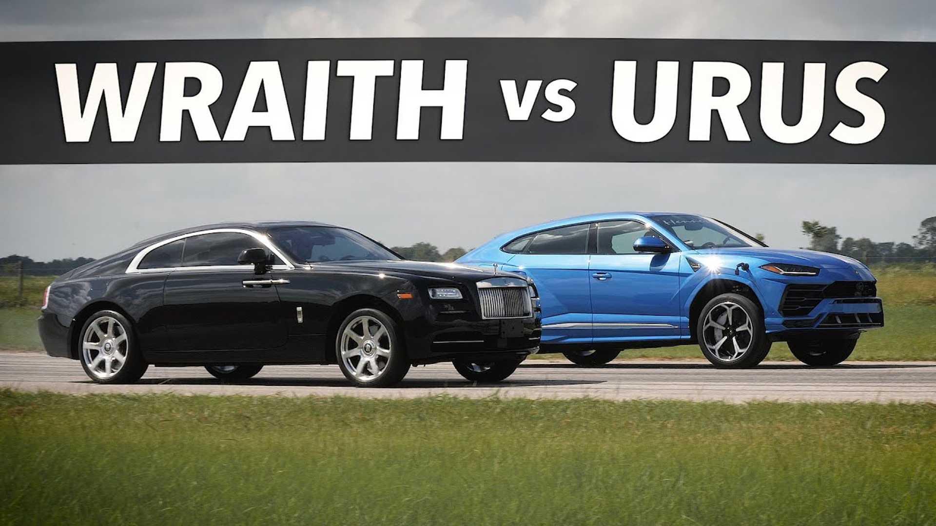 Lamborghini Urus vs. Rolls Royce Wraith