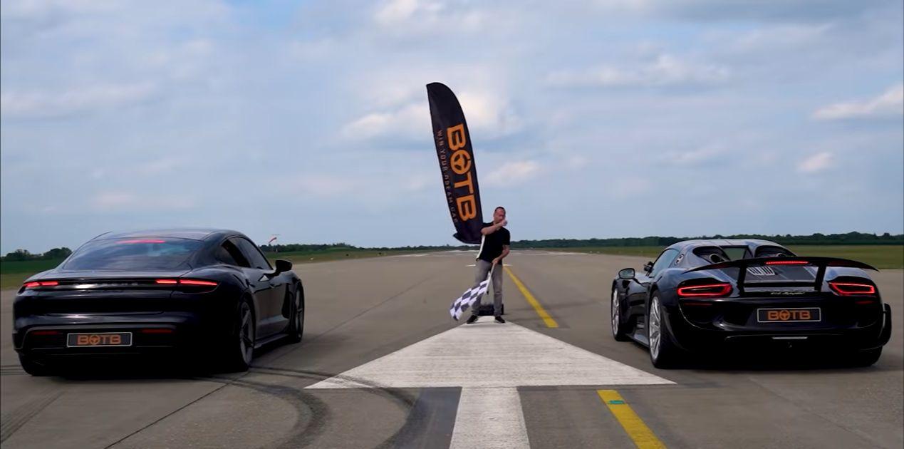 Porsche Taycan Turbo S vs. Porsche 918 Spyder
