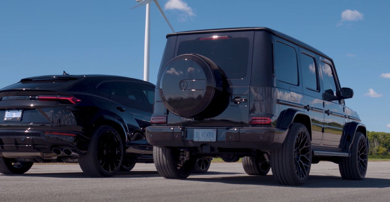 : Lamborghini Urus vs Mercedes-AMG G63 o mocy 700 KM