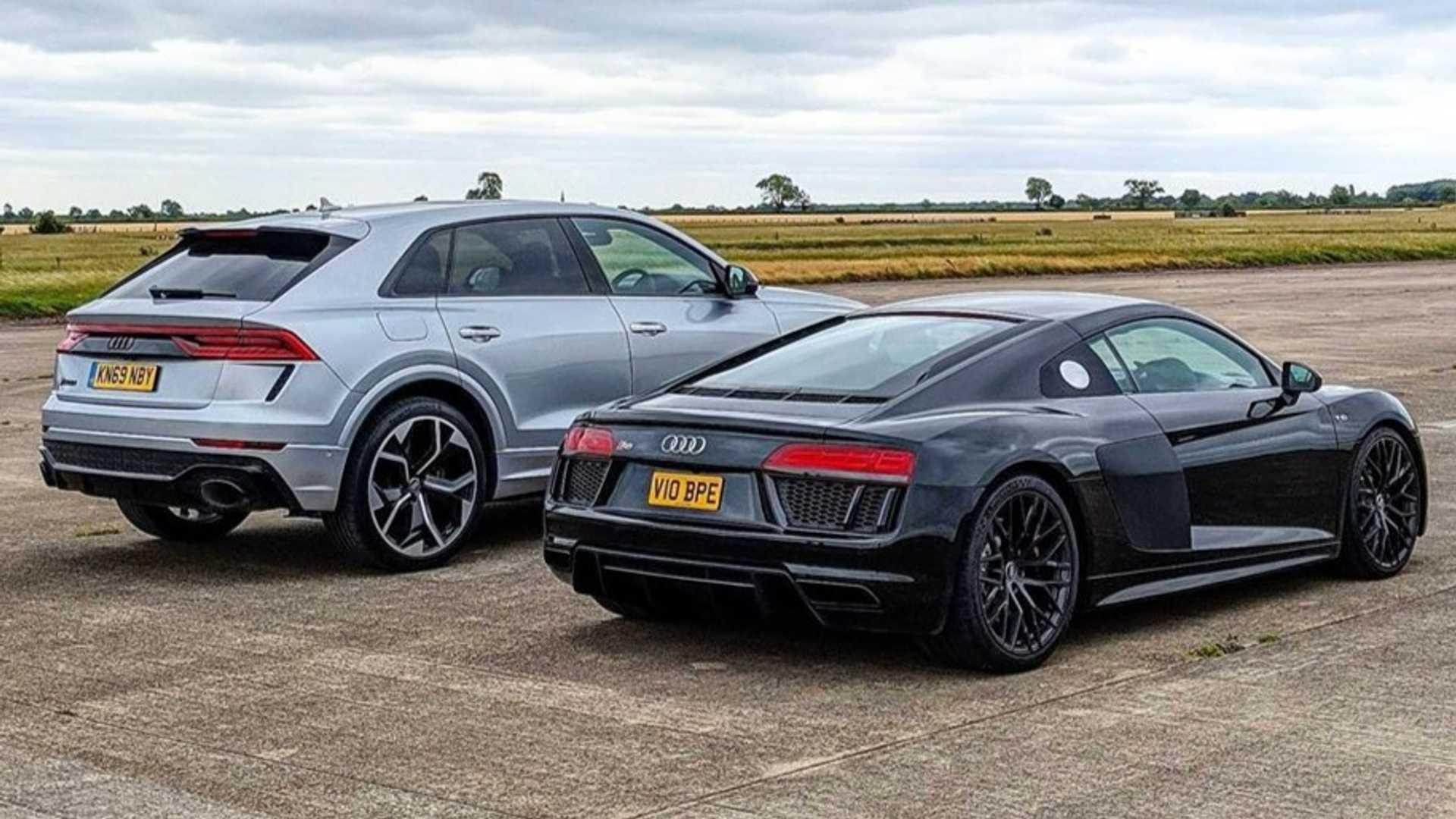 Audi RS Q8 vs. Audi R8 V10
