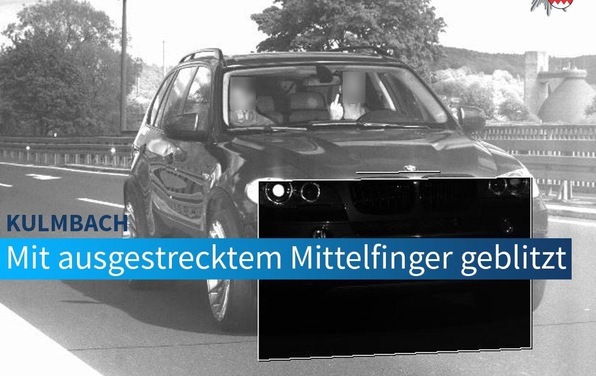 Kierowca BMW X5 zapłacił 75 razy wyższą grzywnę za środkowy palec