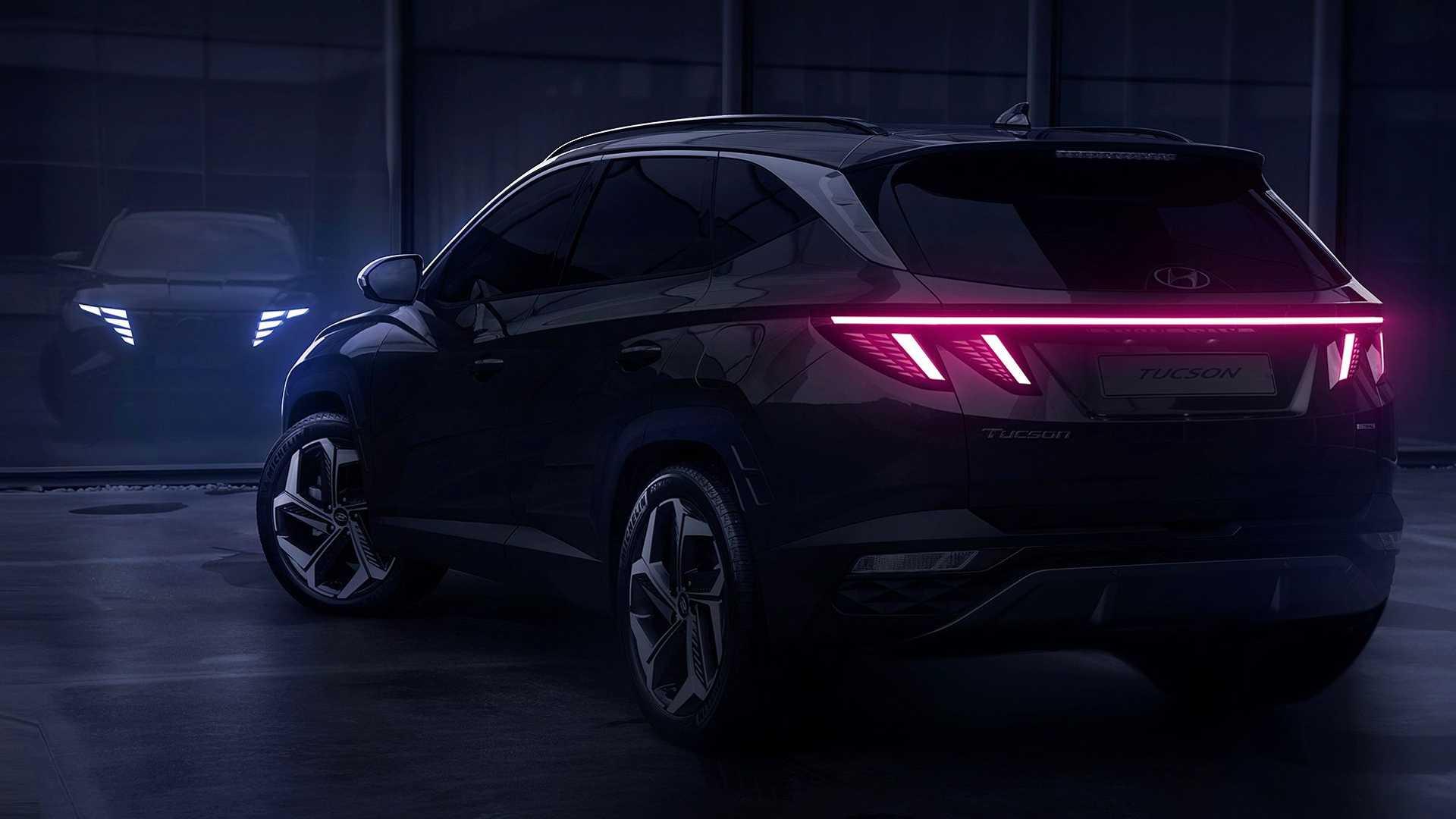 Hyundai Tucson 2021 - pierwsze zdjęcie