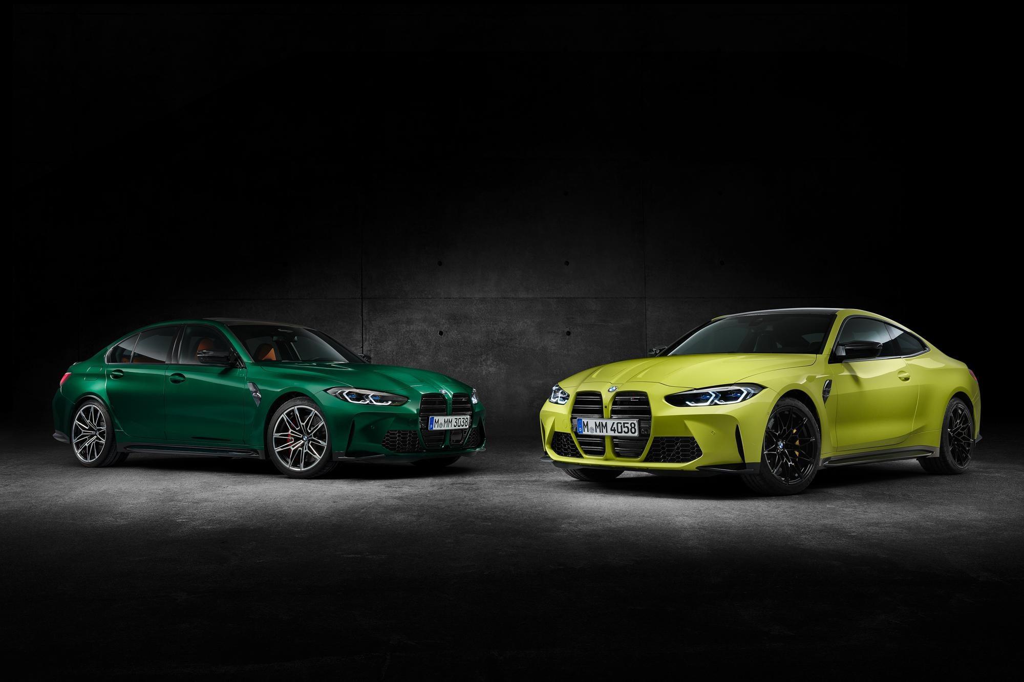 BMW M3 i M4 2021