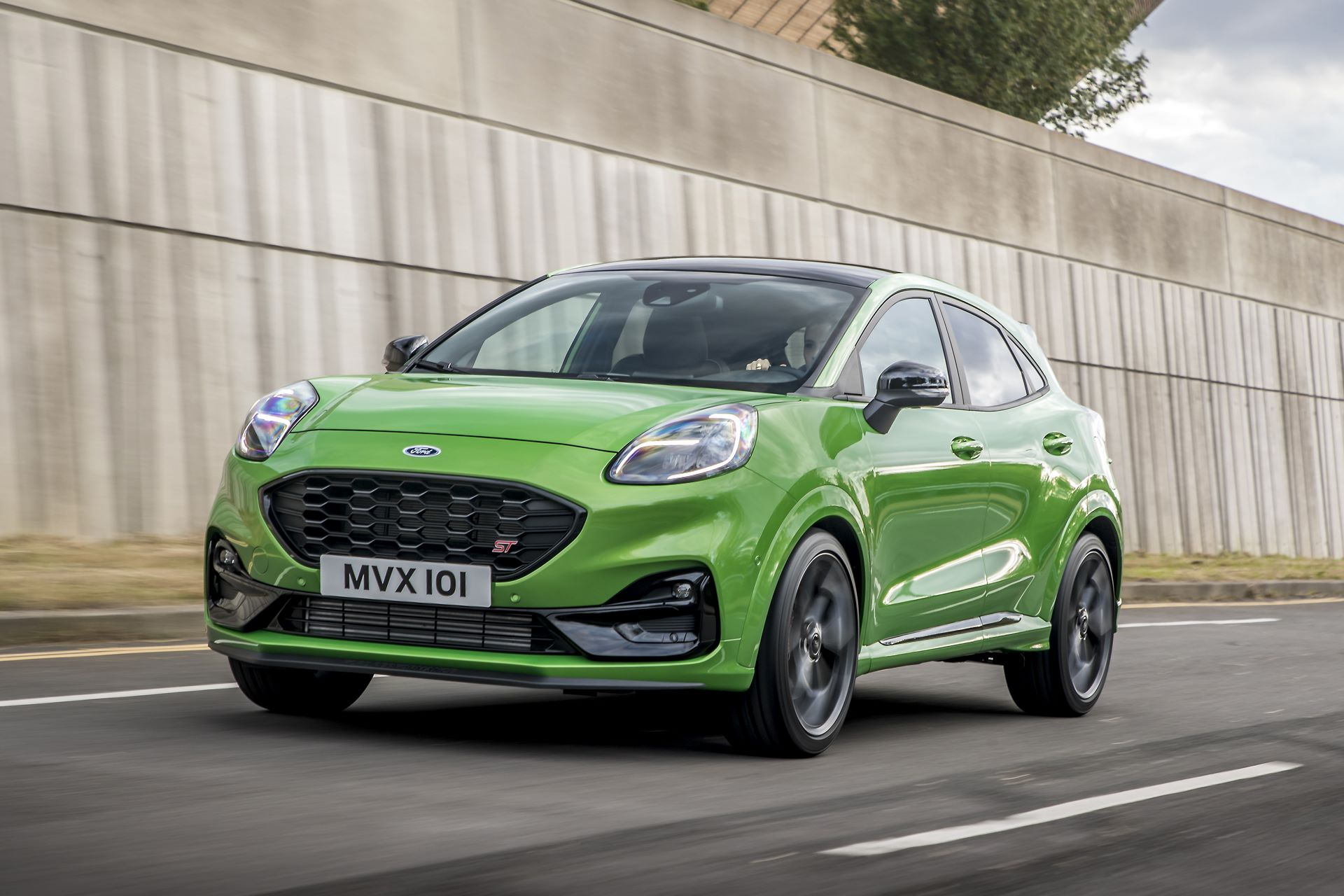 Ford Puma ST 2020 Mean Green