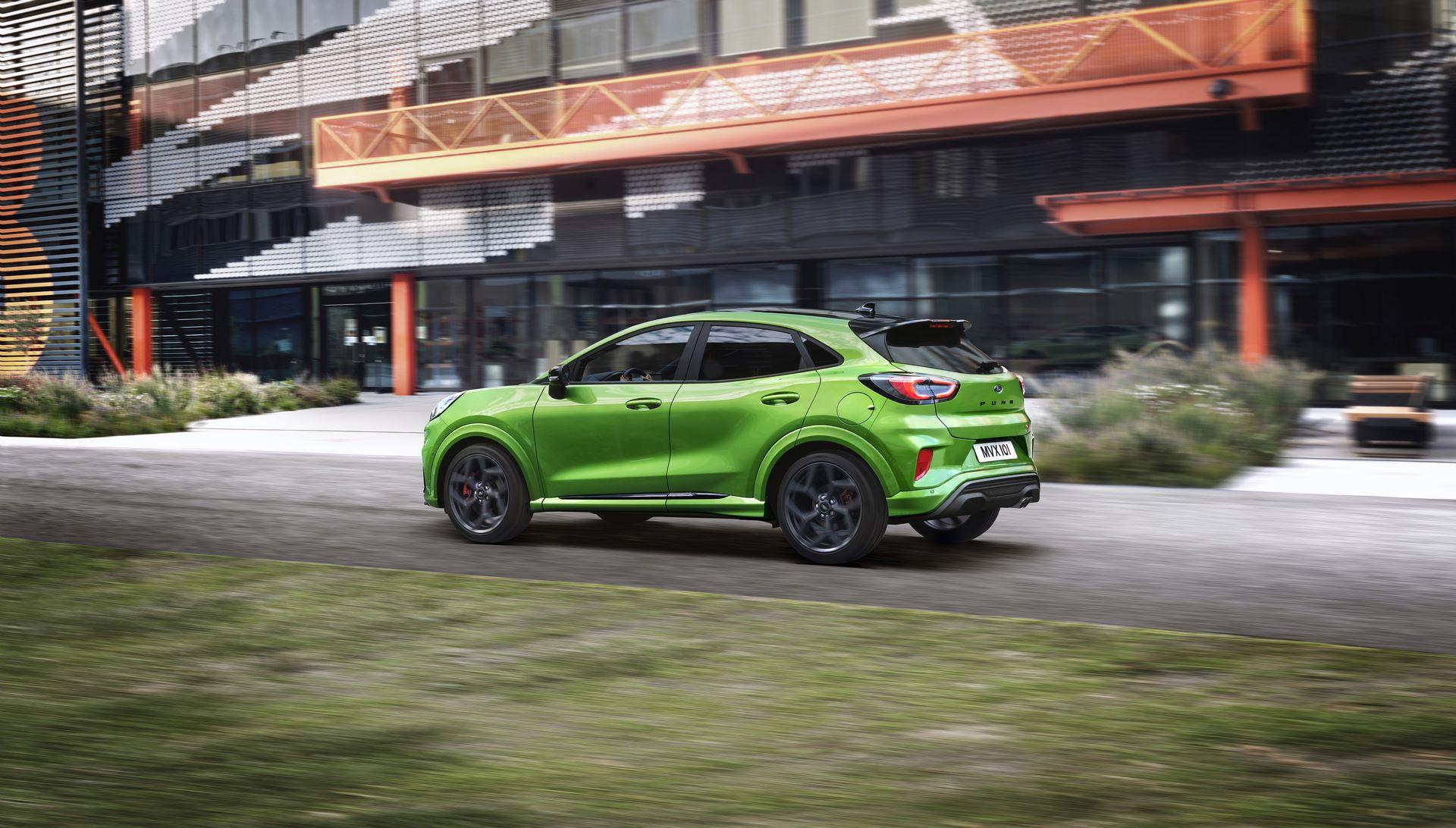 Ford Puma ST 2020 Mean Green