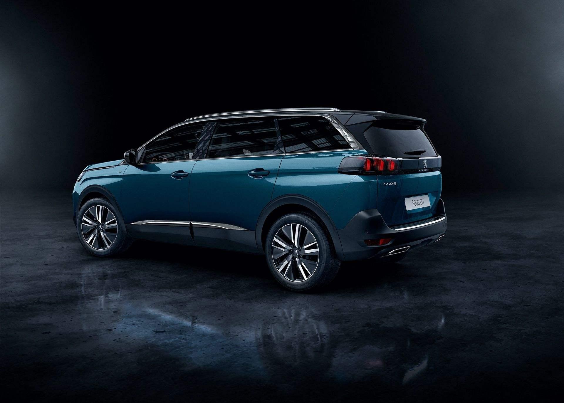 Peugeot 5008 (2021): lifting
