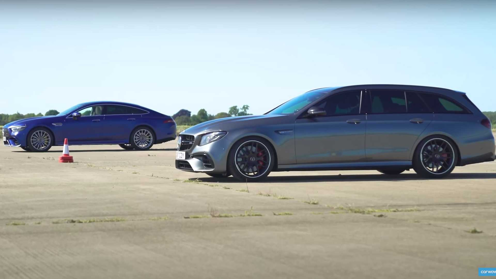 Mercedes-AMG GT 63 S vs. E 63 S Kombi