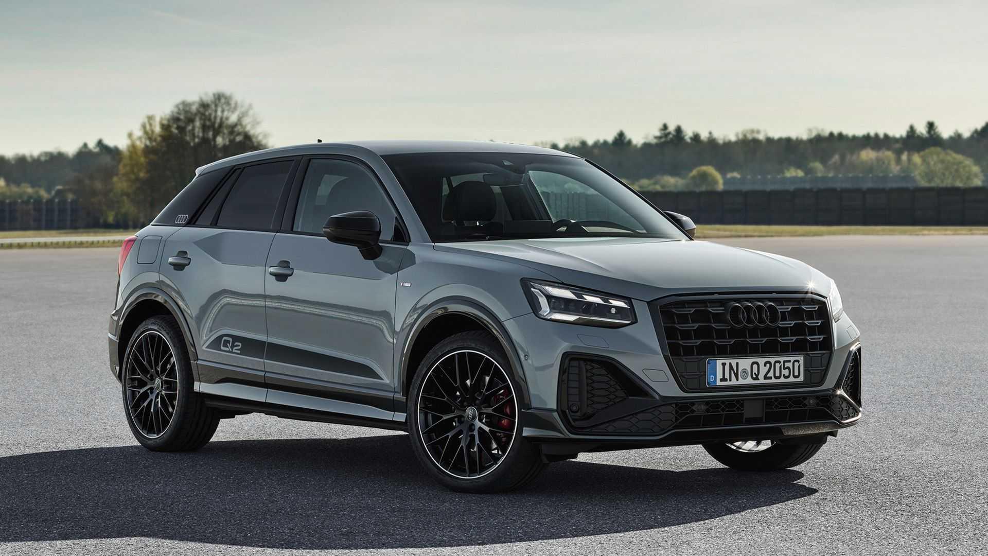Audi Q2 (2021) face lift