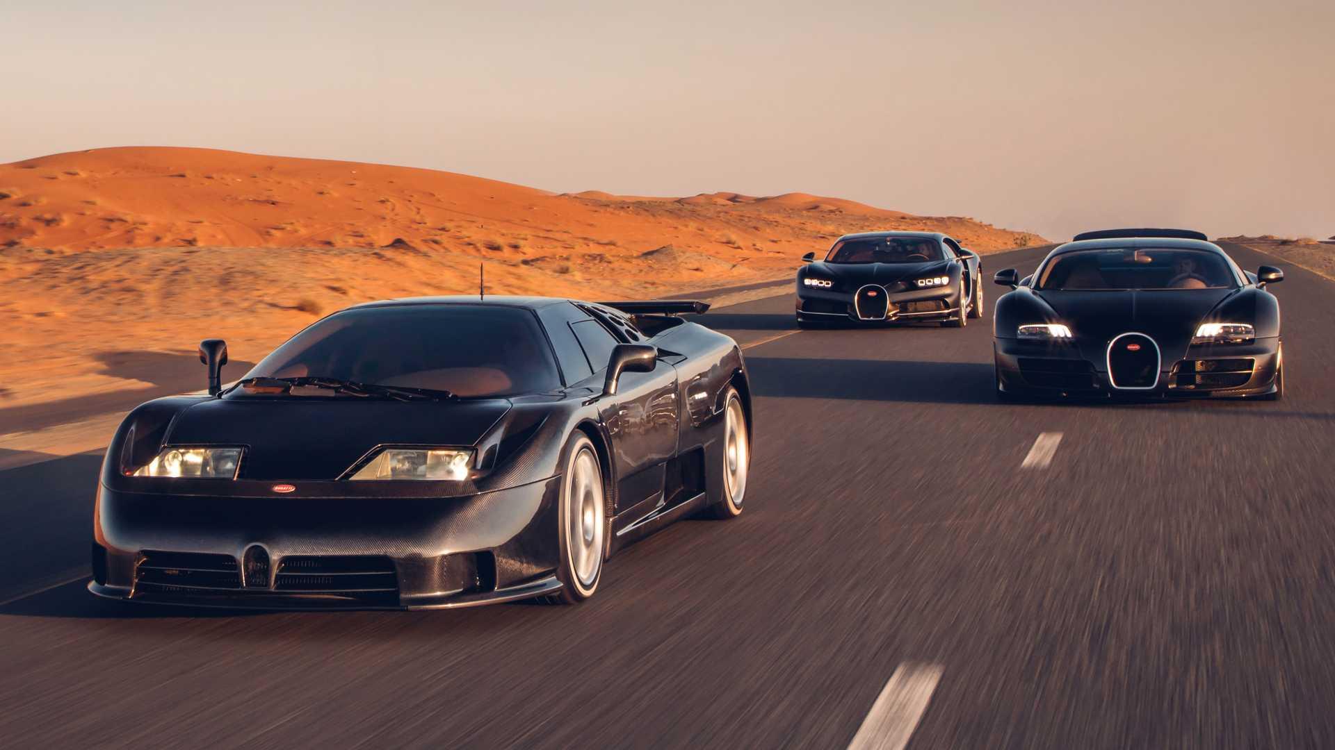 Modele Bugatti - Veyron, Chiron