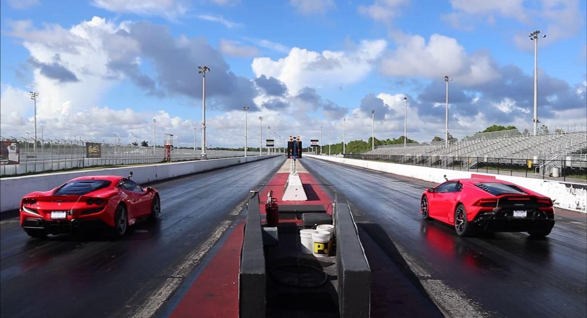 Ferrari F8 Tributo vs. Lamborghini Huracan Evo