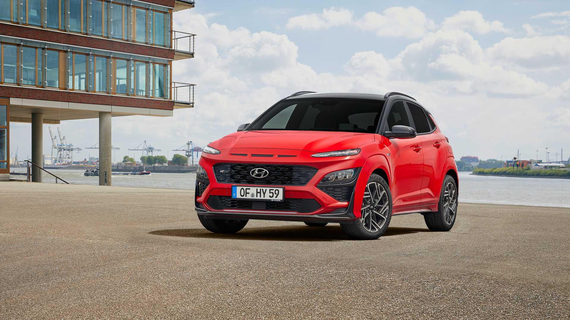 Hyundai Kona N line 2021: lifting