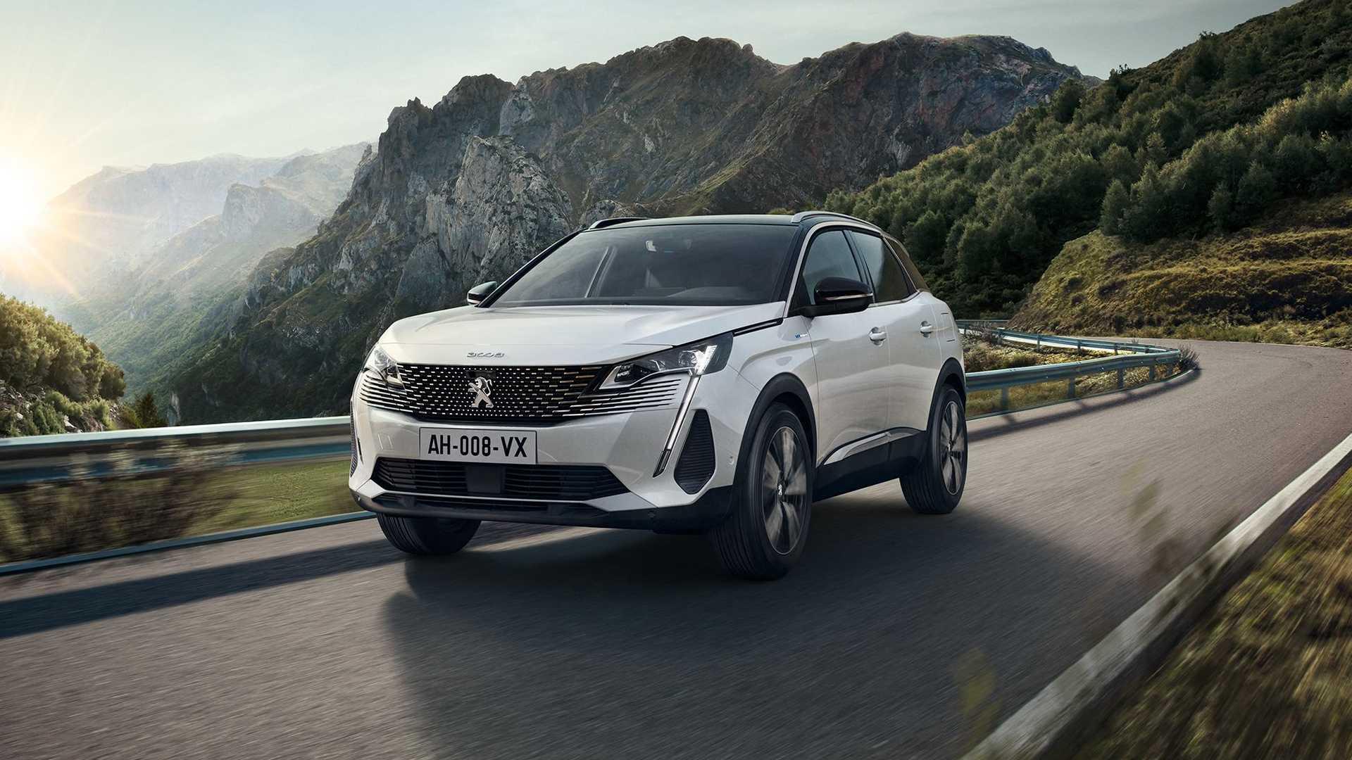 Peugeot 3008 2021 lifting