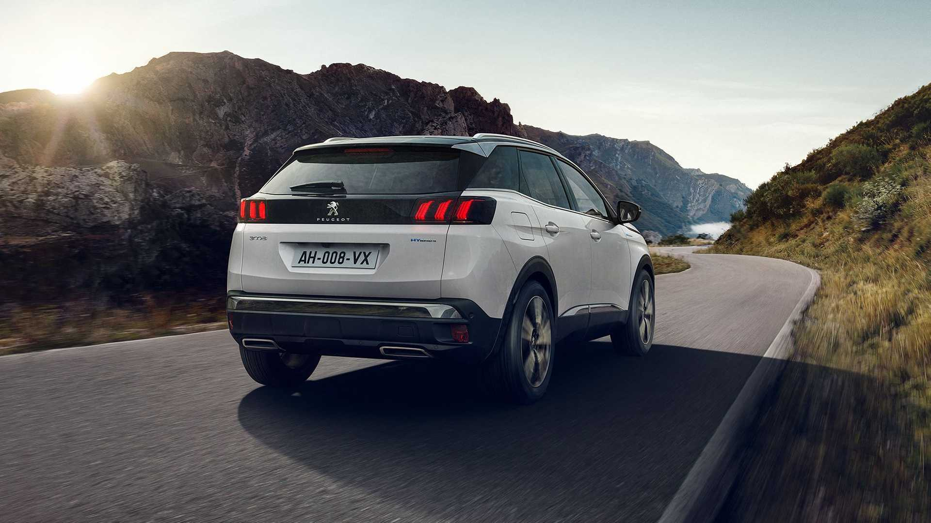 Peugeot 3008 2021 lifting PHEV