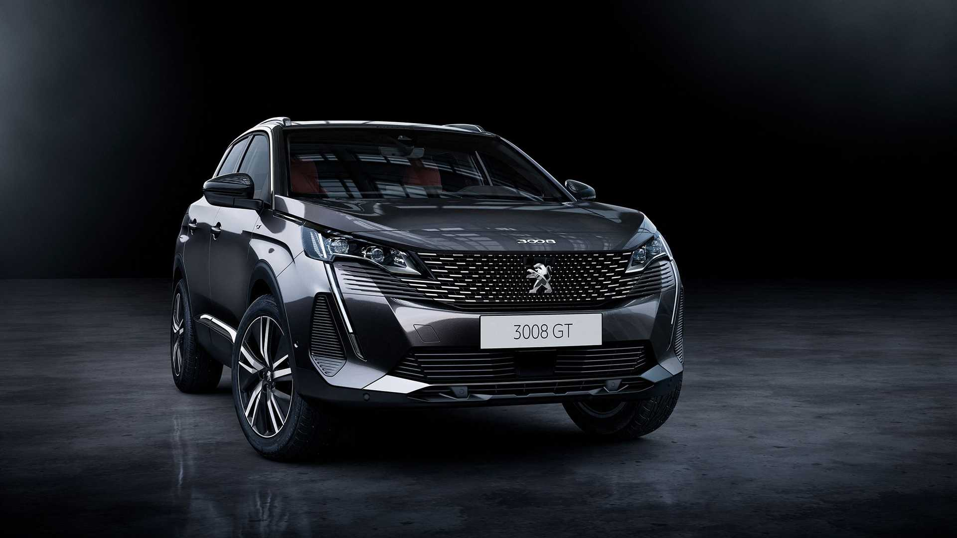 Peugeot 3008 GT 2021 lifting