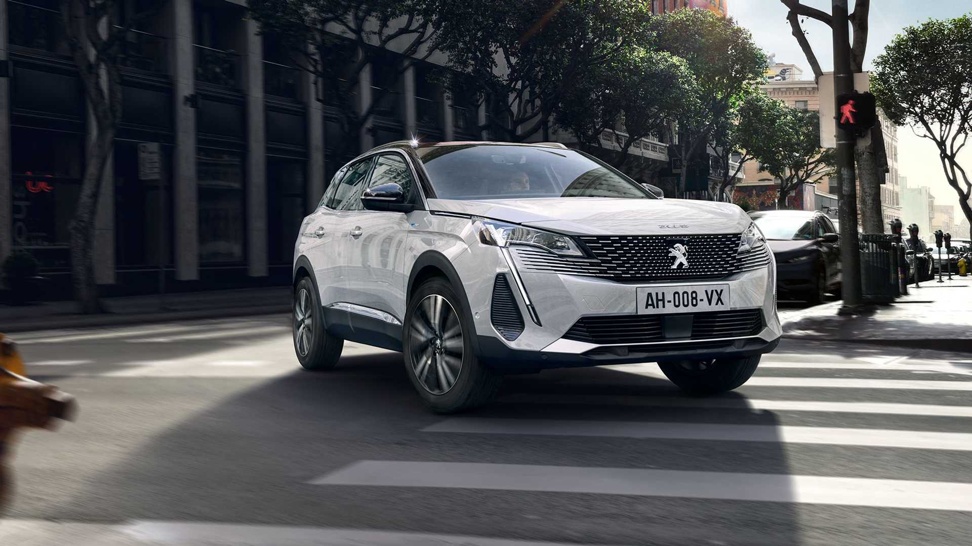 Peugeot 3008 plug-in hybrid 2021 lifting