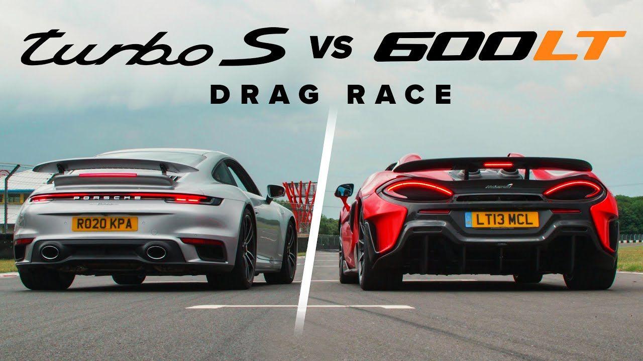 Porsche 911 Turbo S vs. McLaren 600LT Spider