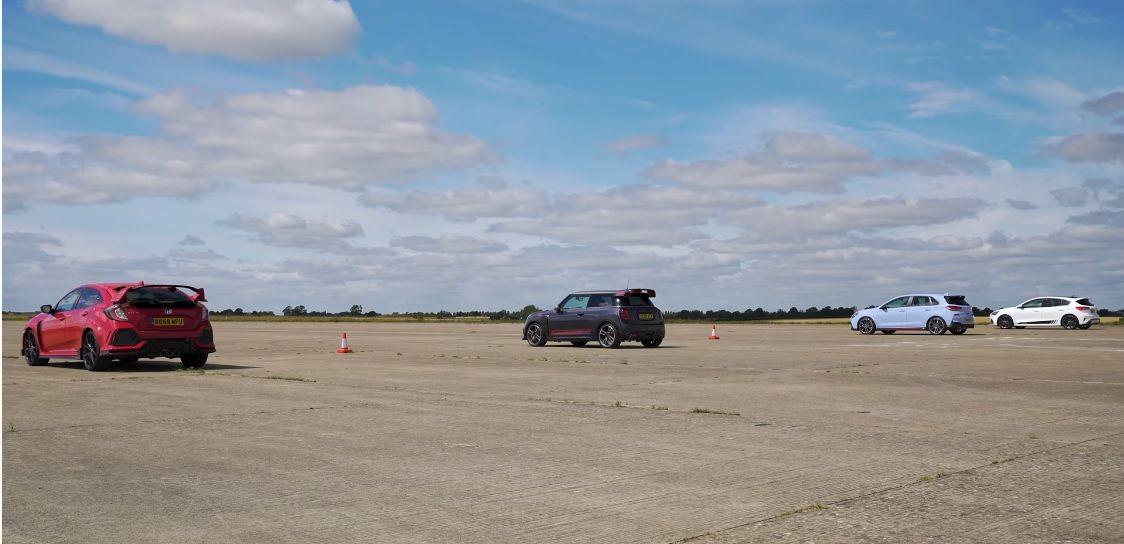 Civic Type R v MINI GP v I30 N v Focus ST