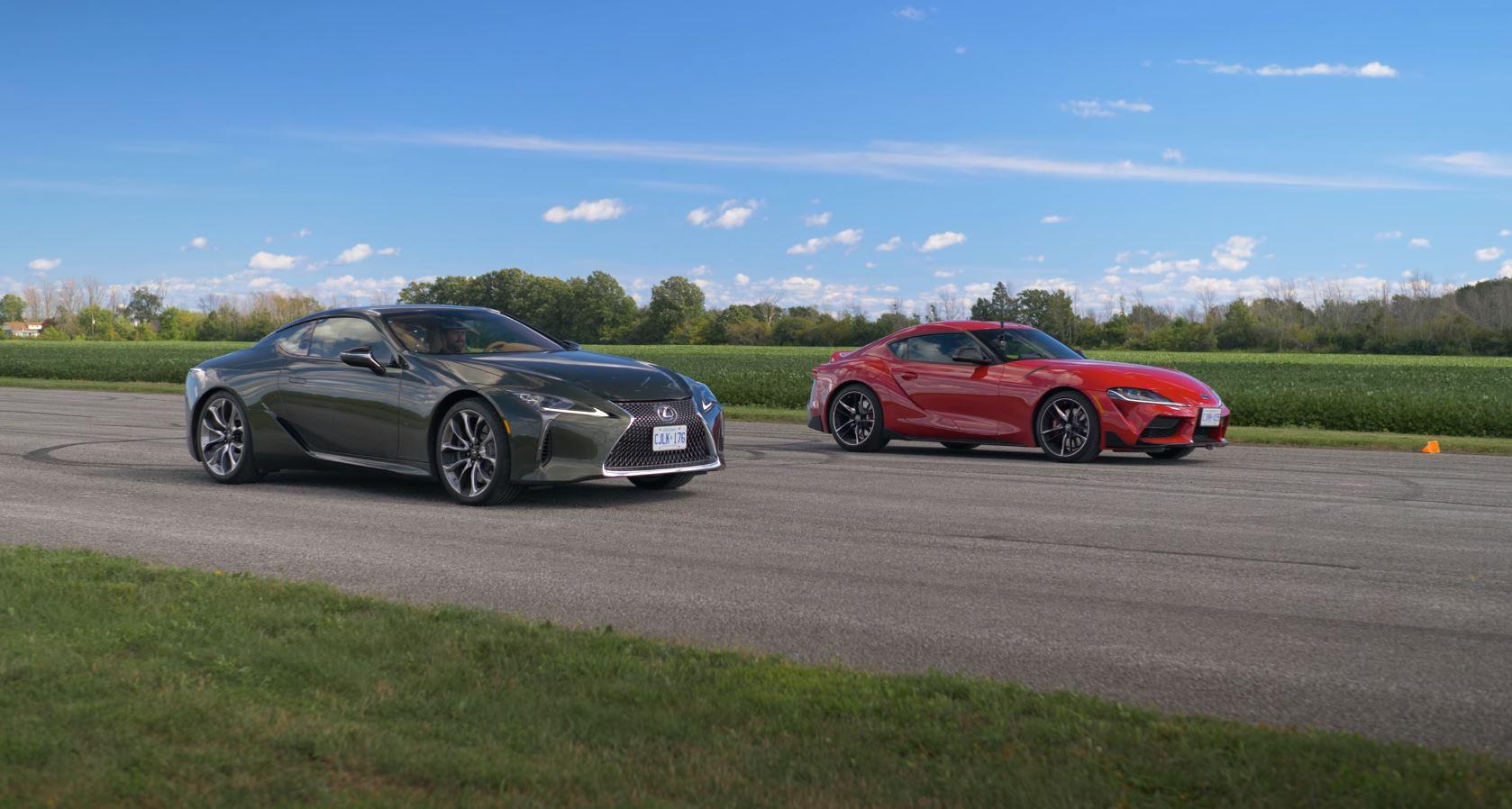 Lexus LC500 vs. Toyota Supra