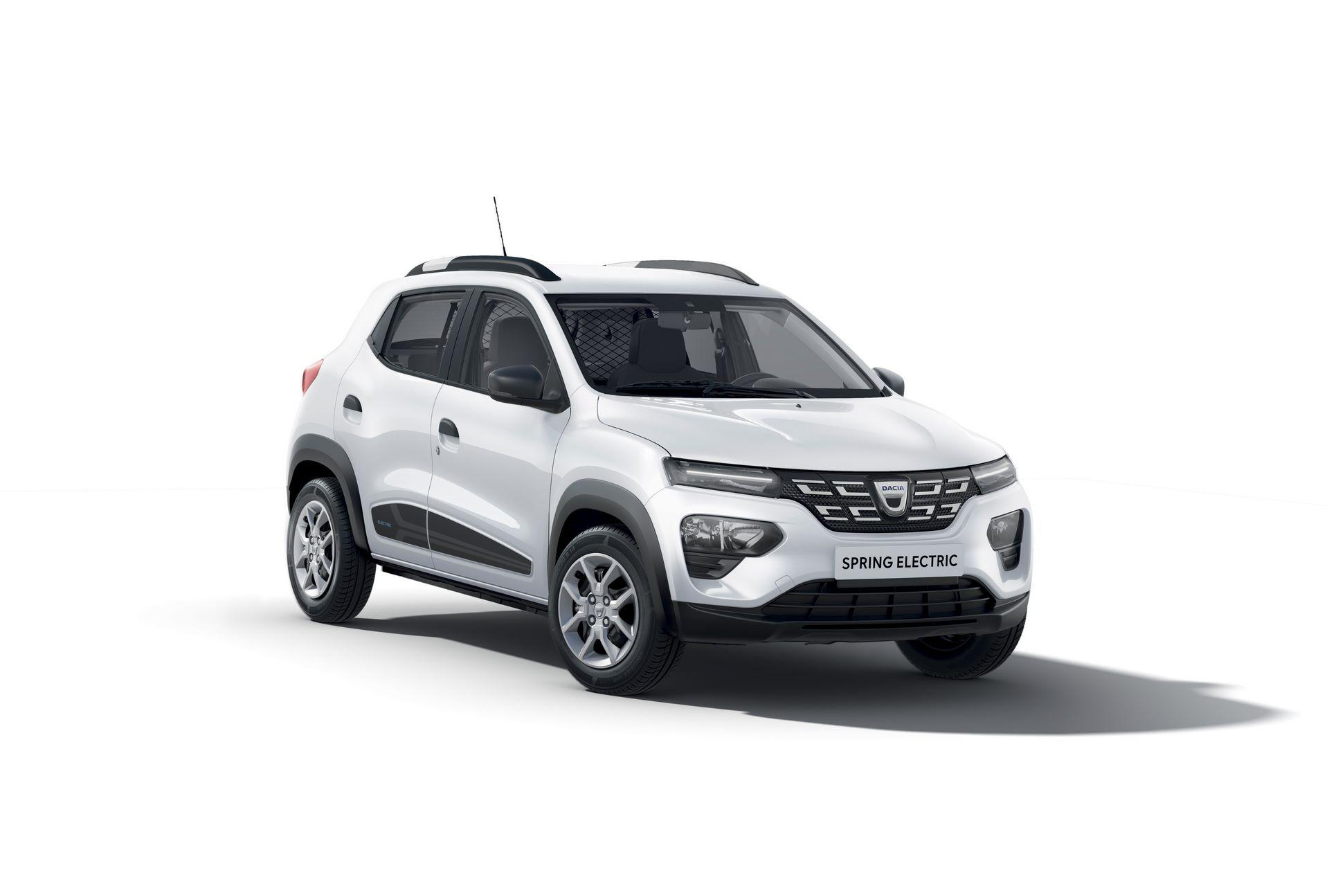 Dacia Spring Cargo (EV) 2021