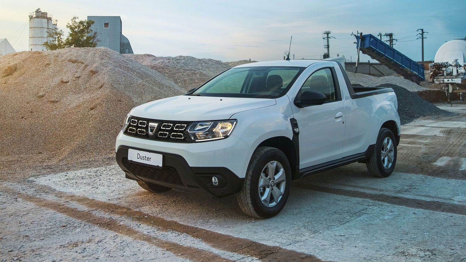Dacia Duster pickup (2021)