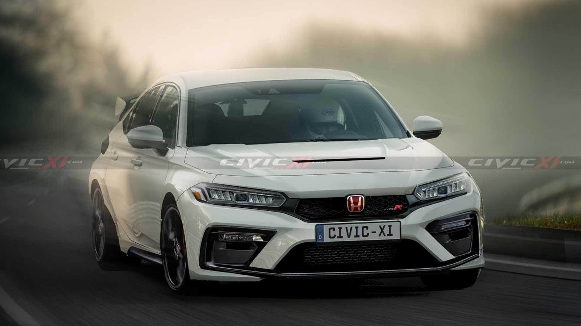 Honda Civic Type R (2021) – rendering, fot. Civicxi